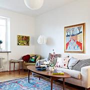 小户型欧式客厅装潢设计图