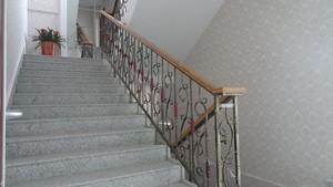 时尚典雅的铁艺楼梯装修设计效果图