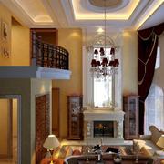北欧风格客厅吊顶设计