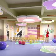 幼儿园内部色彩搭配