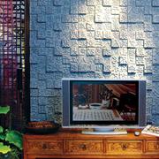都市客厅背景墙灯光设计