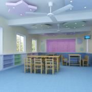 幼儿园教室整体设计