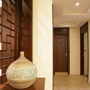 富有创意的客厅玄关装修