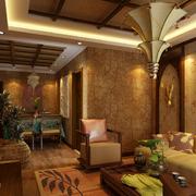 东南亚风格餐厅装修灯光设计