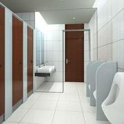 唯美厕所装修效果图