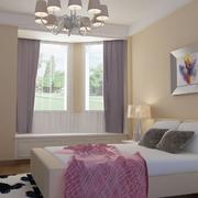 卧室飘窗设计装修色调搭配