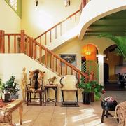 大气的楼梯造型设计