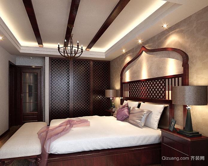 50平米异域风情东南亚风格卧室装修