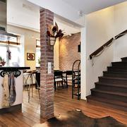 现代家装楼梯装修效果图