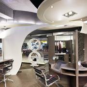 美发店装修桌椅设计