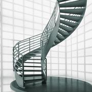 旋转楼梯装修效果图