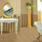 马可波罗瓷砖背景墙装修镜子图