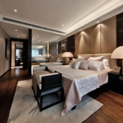 时尚精致的卧室设计