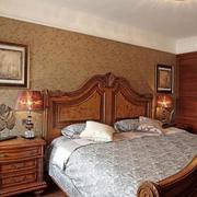 卧室壁纸装修背景墙图