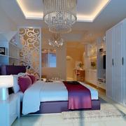 小户型单身公寓装修卧室图