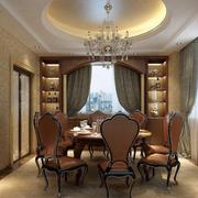欧式餐厅飘窗装修效果图