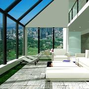 阳光房玻璃幕墙装修内部设计