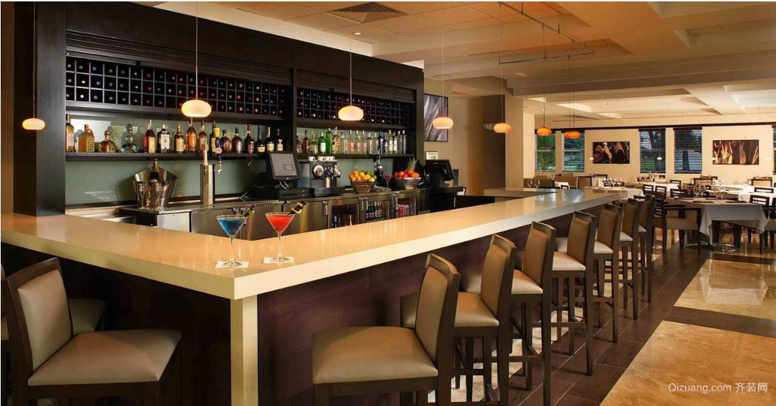 北欧风格酒吧设计装修效果图