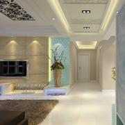 走廊吊顶装修客厅设计