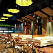 都市咖啡厅装修效果图