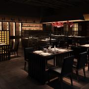 温和地中海风格餐厅装修图