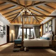 现代卧室设计吊灯图