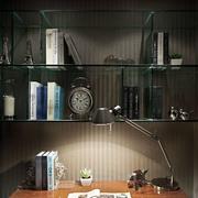 都市书房灯光设计装修效果图