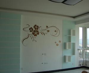 客厅液体壁纸装修效果图
