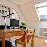 阁楼书房桌椅设计