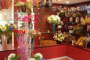 唯美鲜花店设计图