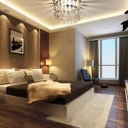 卧室背景墙灯光设计