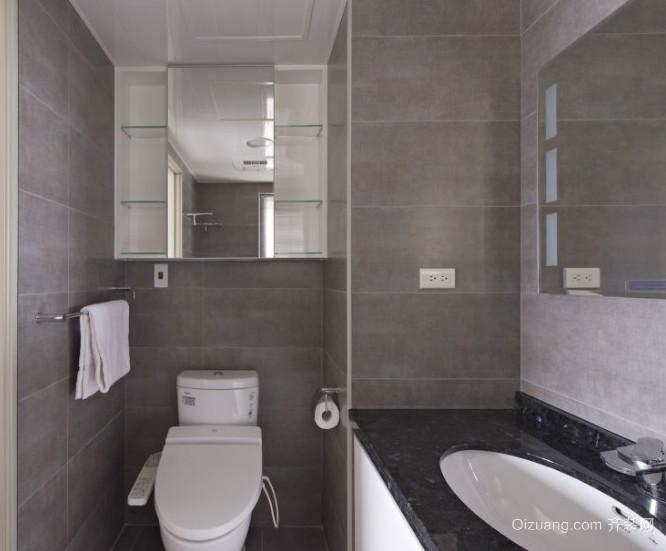70平米小跃层卫生间装修效果图