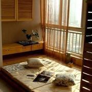 阳光房榻榻米设计窗帘