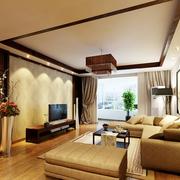 稳重的中式客厅设计