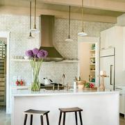 欧式开放式厨房装修
