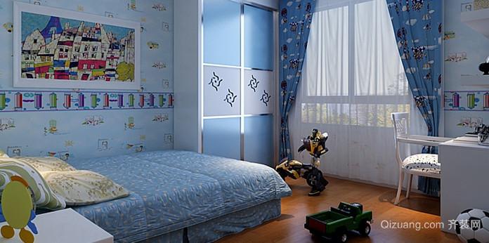 恬淡简约的朴素儿童房设计装修效果图鉴赏