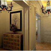 暖色调地中海风格客厅