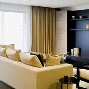 客厅飘窗设计装修沙发图