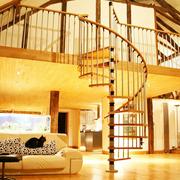 楼梯装修旋转造型图
