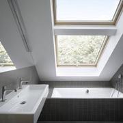 斜顶阁楼开天窗设计图