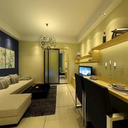 小户型单身公寓装修灯光设计