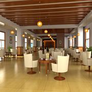 精美咖啡厅装修效果图