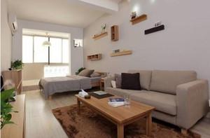 精简舒适单身公寓装修效果图