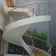 旋转楼梯装修扶手图