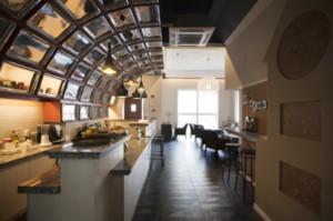 90平米小资情调的咖啡厅装修效果图