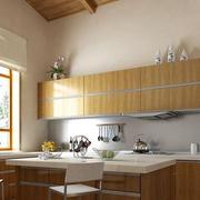 日式风格厨房装修效果图