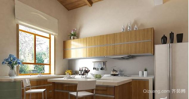 美观简约的现代日式厨房装修效果图