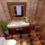 卫生间设计地板砖设计