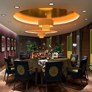 地中海风格餐厅装修吊灯图
