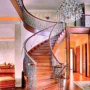 铁艺楼梯整体设计
